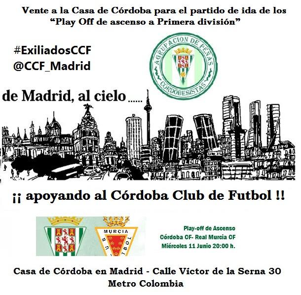 CCF vs Murcia